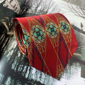 Oscar de la renta tie, men's designer tie